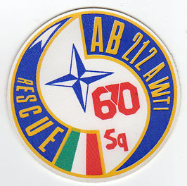 Italian Air Force patch 670° Squadriglia / AWTI AB.212 period   - disbanded -