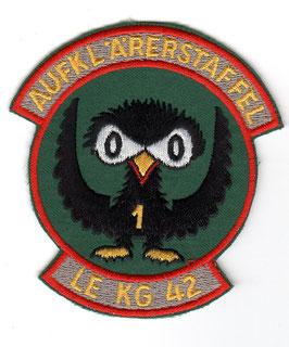 German Air Force patch LeKG 42 / 421 Staffel Fiat G.91 Gina