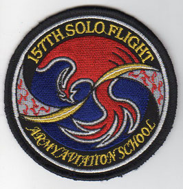 South Korean Army Aviation School class patch 157th Solo