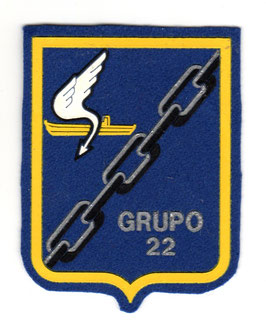 Spanish Air Force patch GRUPO 22 P-3 Orion