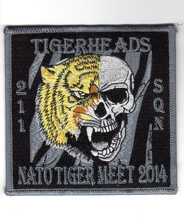 Czech Air Force patch 211 Tactical Squadron NATO Tiger Meet NTM 2014