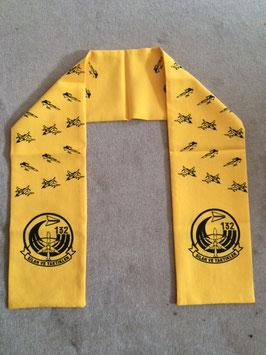 Turkish Air Force scarf Konya 132 Filo F-5 & F-4 VERY RARE!!!