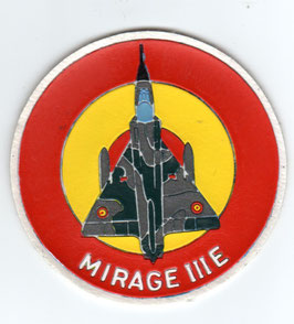 Spanish Air Force patch Mirage IIIE vintage