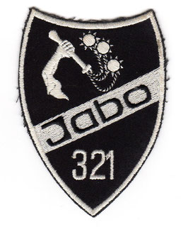 German Air Force patch JaBoG 32 / 1st Squadron F-104G Starfighter   1982