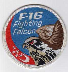 RSAF patch F-16 swirl old Singapore made version