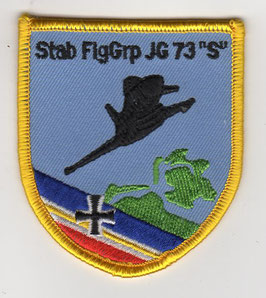 German Air Force patch JG 73 ´Steinhoff´ / Stab FlgGrp Eurofighter