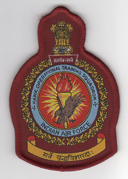 Indian Air Force HOTS - Hawk Operational Training Squadron Crest patch