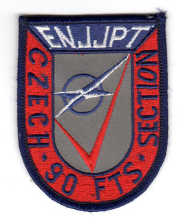 Czech Republic Air Force patch ENJJPT 90th FTS Czech Section