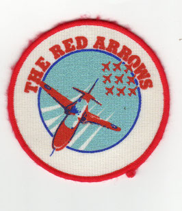 Royal Air Force patch The Red Arrows vintage version 1