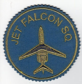 Iranian Air Force patch Jet Falcon Squadron golden version