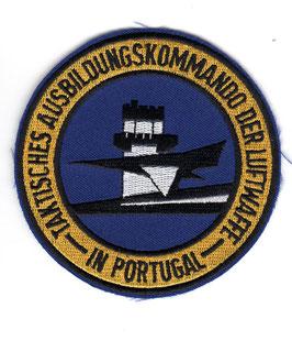 German Air Force patch Taktisches Ausbildungskommando der Luftwaffe in Portugal / Beja   - disbanded 1992 -
