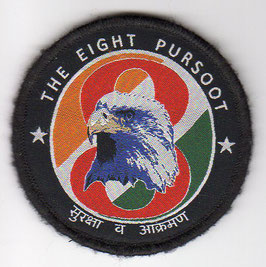 Indian Air Force No.8 Squadron ´The Eight Pursoot´ Ops patch
