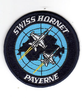 Swiss Air Force patch Swiss Hornet Payerne