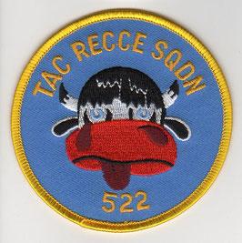 German Air Force patch AG 52 / 2. Staffel RF-4E Phantom II   - disbanded 1994 -