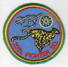 Ethiopia Air Force patch 20th Fighter Squadron MiG-21