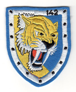 Spanish Air Force patch Escuadron 142 ´Tigres´ Mirage F.1EC   - vintage / embroidered -