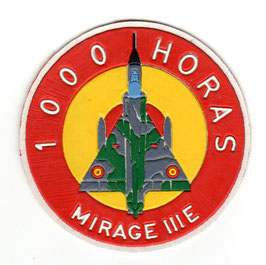Spanish Air Force patch Mirage IIIE 1000 Horas vintage