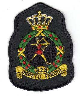 Royal Netherlands Air Force patch 323 Squadron crest F-16A/B