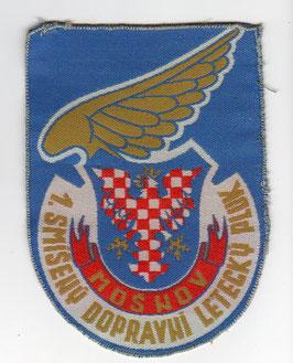 Czech Republic Air Force patch 1.SmDLP   -obsolete -
