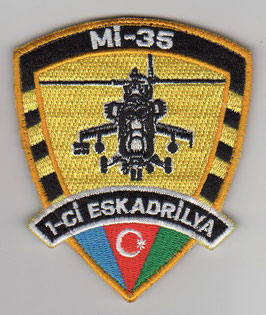 Azerbaijan Air Force patch 1-ci Eskadrilya Mi-35