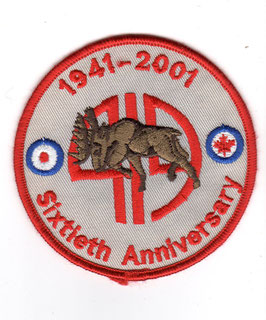 Royal Canadian Air Force patch No.419 Squadron CT-155 Hawk 60th Anniversary