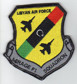 Libyan Air Force patch MIrage F.1 Squadron