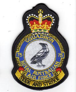 Royal Australian Air Force crest patch No.75 Squadron