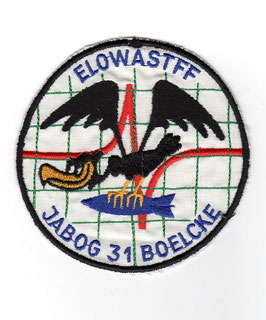 German Air Force patch JaBoG 31 ´Boelcke´ Nörvenich ELOWASTFF F-104G Starfighter