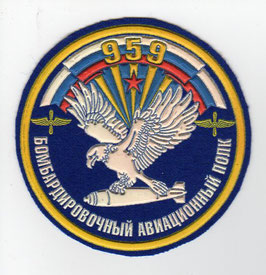 Russian Air Force patch 959 Bomber Aviation Regiment Su-24