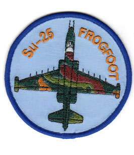 Czech Republic Air Force patch Su-25 Frogfoot   -obsolete -
