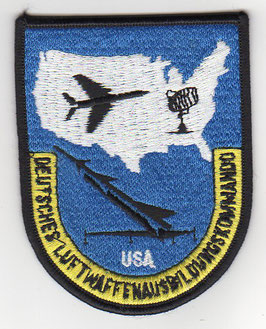 German Air Force patch Deutsches Luftwaffenausbildungskommando USA   - disbanded 1992 -
