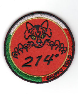Italian Air Force patch 214° Gruppo T-345A