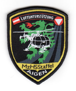 Austrian Air Force patch Mehrzweckhubschrauberstaffel Alouette III