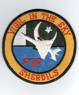 Pakistan Air Force patch No.19 Squadron Ops F-7P period   - obsolete -