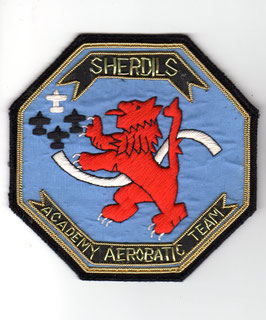 Vintage Pakistan Air Force patch ´The Sherdils´ Display Team T-37   - obsolete -
