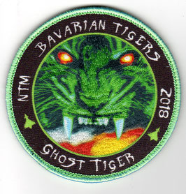 German Air Force patch TLG 74 NATO Tiger Meet 2018 ´Ghost Tiger´ vers.1