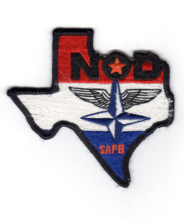 Royal Netherlands Air Force patch NOD - Nederlands Opleiding Detachment Sheppard AFB   - vintage -