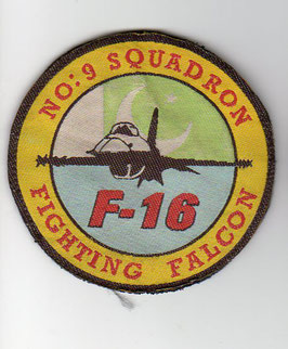 Pakistan Air Force patch No.9 (MR) Squadron ´Griffins´ F-16A/B