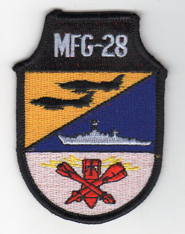 East German Air Force patch MFG 28 Marinefliegergeschwader 28 ´Paul Wieczorek´ Su-22 RARE!!
