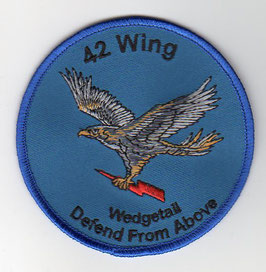 Royal Australian Air Force crest patch 42 Wing Ops B737-7ES AEW&C Wedgetail
