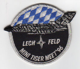 German Air Force patch JaBoG 32 Mini NATO Tiger Meet 1996 Tornado ECR