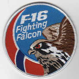 Royal Norwegian Air Force F-16 swirl patch