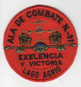 Ecuadorian Air Force patch Ala No.31 A-37B era