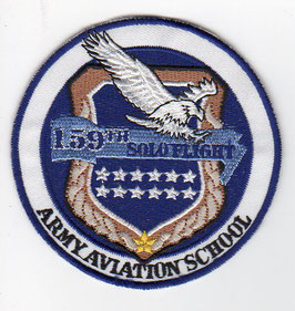 South Korean Army Aviation School class patch 159th Solo