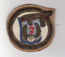 Royal Hellenic Air Force patch 337 Fighter-Bomber Squadron T-33 / F-84G