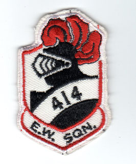 Royal Canadian Air Force patch No.414 Squadron Electronic Warfare Alpha Jet