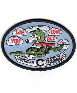German Army Aviation patch HFR 36 Heeresfliegerregiment 36 Charly-Schwarm Bo.105