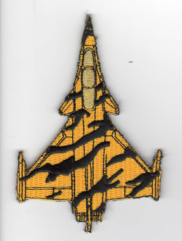 French Air Force patch Rafale silhouette NTM NATO Tiger Meet