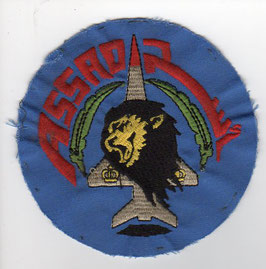 Royal Moroccan Air Force patch Escadron de Chasse ´Assad´ Mirage F.1 CH old version