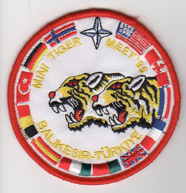 Turkish Air Force patch 192 Filo NTM 1995 Balikesir